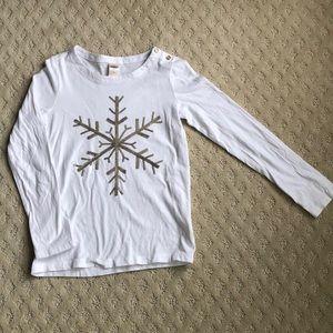 🎄4/$20 Oshkosh Snowflake Top